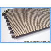 Heavy Gauge Metal Wire Mesh , Stainless Steel Grid Mesh Strainer Basket Wedge Wire Slotted Manufactures