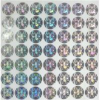 Mass Production Authentic Hologram Stickers UV Ink For Bottled Beverage