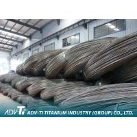 Quality ASTM B348 Silver Forging , Grinder Titanium Wire Titanium Alloy Wire for medical for sale