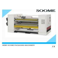 Rotary Sheet Corrugated Board Cutting Machine High Efficiency Different Transmission Control Manufactures