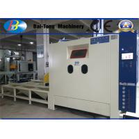 Heavy Duty Work Car Automatic Sandblasting Machine 1200*1200*1950mm Dimension Manufactures