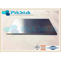 Anti Corrosion Aluminum Honeycomb Steel Sheet , Modern Composite Wall Panels Manufactures