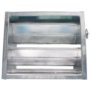 China Manual Air Duct Damper Clean Room Ventilation Air Damper Actuator Manual Regulation on sale