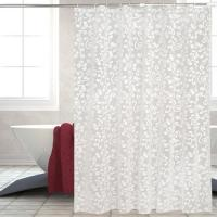 China PEVA Stylish Waterproof Shower Curtain For Home on sale
