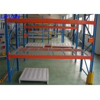 Industrial Warehouse Steel Wire Pallet Rack With Wire Mesh Decking Robot Welding Manufactures
