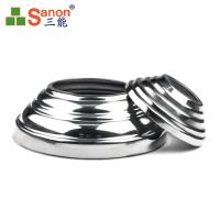 ASTM GB JIS Stainless Steel Round Cover Plate Light Weight 0.4mm Thickness Manufactures