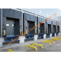 Container Loading Dock Doors With Seal Shelter For Warehouse And Distribution Center Manufactures