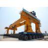 Costomized Bridge Beam Launcher Crane , Girder Gantry Crane Simple Operation for sale