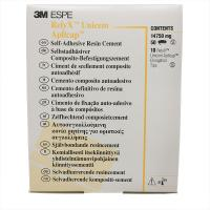 3M ESPE Relyx Unicem Aplicap Dental Self Adhesive Resin Cement Manufactures