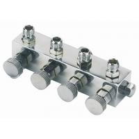 High Durability Airbrush Spare Parts , 4 Way Airbrush Manifold Replacement A9-4 Manufactures