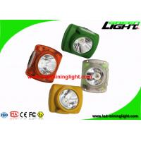 Buy cheap Customized Mining Hard Hat Lights 13000 Lux With Adjustable Stainless Steel Clip from wholesalers
