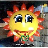 Sunflower flowers elves inflatable balloon, advertising inflatable helium balloon Manufactures
