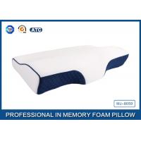 China Supplier Curved Cervical Memory Foam Neck Support Pillow For Sleeping Manufactures