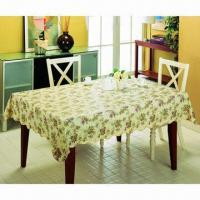 Vinyl Table Cloth with Flannel, Flannel Back Table Cloth, Waterproof Vinyl Table Cloth Manufactures