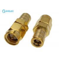 China Sma Male Jack To Smb Female Plug Rf Coaxial Connector Adapter on sale