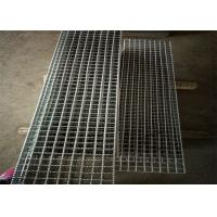 Heavy Load Metal Grate Flooring Anti Slipping Electric Galvanized Surface Manufactures
