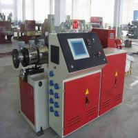 Plastic And Wood Profile Extrusion Machine / Double Screw Extruder Manufactures