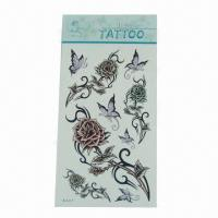 Temporary tattoo stickers, suitable for children toys/notebook mobile/window/body Manufactures