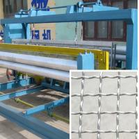 Fully Automatic Crimped Wire Mesh Making Machine 2mm~6mm Wire Dia Manufactures