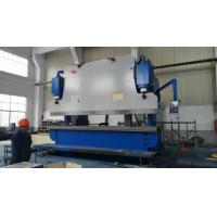 6m Length Plate Press Brake Machine CNC Controlling Steel Protective Fence Bending