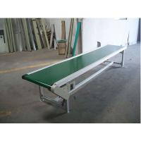 China PU Food Grade Belt Conveyor , Mini Aluminum Belt Conveyor 380V Voltage on sale