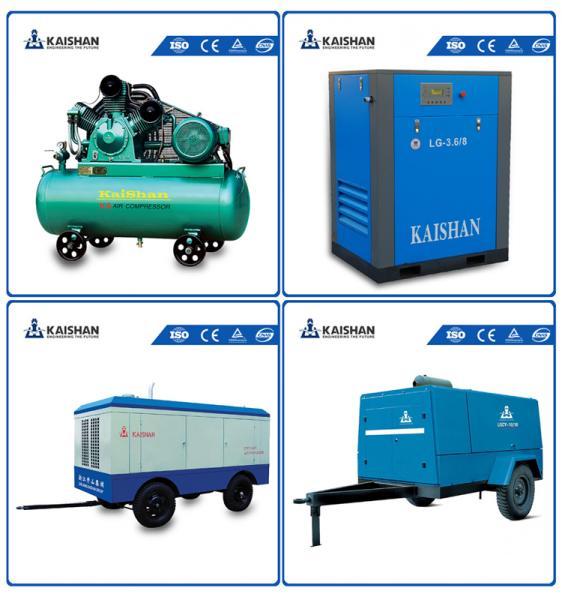 2017 Hot sales! LGCY-12/10 Kaishan air compressor/Portable diesel screw air compressor