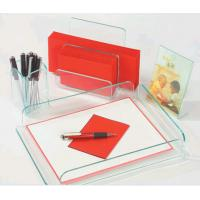 Portable Table Top Clear Acrylic Display Stands For Office Ornament Manufactures