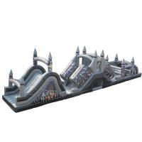 China Star Wars Themed Inflatable Sports Games / Blow Up Race Track Water Resistant on sale