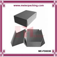 Professional OEM custom grey folding paper box for Men