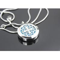China Aromatherapy Essential Oil Jewelry Magnetic Memory Lockets Necklace on sale