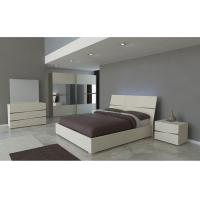Luxury 5 Piece Bedroom Set King Size , Contemporary Bedroom Furniture Sets  Manufactures