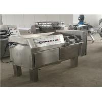 Stainless Steel Casing Meat Dicer Machine For Chicken / Duck 2.25KW Power Manufactures