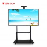 China LED Intelligent Interactive Flat Panel All In One PC Touch Screen With Stand on sale