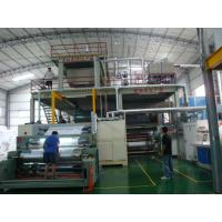 High Speed 10 - 300m / Min PP / PET Non Woven Fabric Production Line S SS SMS Manufactures