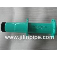 ductile iron pipe fittings, flange spigot piece with puddle flange. ISO 2531, BS EN545, BS EN598 Manufactures