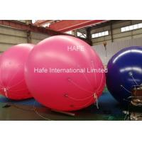 Color Changing Helium Balloon Lights , Inflatable Balloon For Advertising Manufactures