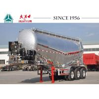 Lightweight Cement Tanker Truck , Aluminum Tanker Trailer With Engine Manufactures