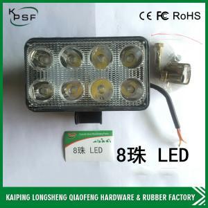 Energy Saving Excavator Work Lights Alloy Die Casting 110×75×65 mm DC 12-80 V