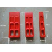 Custom Red Printer Tools  Paper Wedge For Printing Machine Manufactures