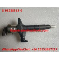 China DENSO Common Rail INJECTOR 8-98238318-0 , 8982383180 , 98238318 for ISUZU 4JJ1 engine on sale