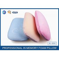 Multi-Function Comfortable Memory Foam Back Cushion Office Napping Pillow In Blue Manufactures