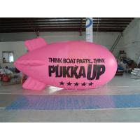 Quality Inflatable Advertising Helium Zeppelin , Openning Events Pink PVC Inflatables for sale