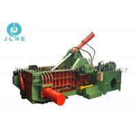 Mobile Scrap Metal Baler Machine Hydraulic Large Scale 650*650mm Max Manufactures