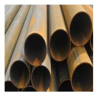 10mm 30mm Welded Steel Pipe / Galvanized Black Steel Pipe Length 2m-12m Manufactures