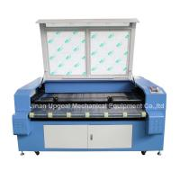 Car Block Set Co2 Laser Cutting Machine with Auto Feeding System/Double Heads Manufactures