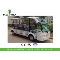 Outdoor 14 Passenger Electric Sightseeing Car with Superior Cruising Capacity Manufactures