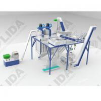 Quality 1.5t/h wood pellet production line from Yantai Lida sawdust prooof ,high automatic ,labor and space saving for sale