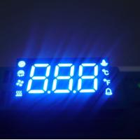 Custom 7 Segment LED Display For Temperature Humidity Defrost Compressor Fan Status Indicator Manufactures