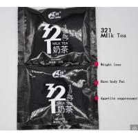 China GMP Certified Slimming Milk Tea Drinking Powder Herbal Weight Loss 321 Milk Tea Instant Beverage on sale