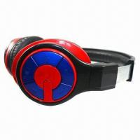 China 2012 Newest 5-in-1 Foldable Bluetooth Stereo Headphones, Supports TF Card on sale